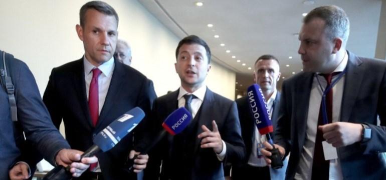 Російське медіа взяло вперше інтерв'ю у Зеленського